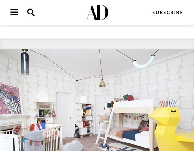 Architectural Digest: my work is in it!