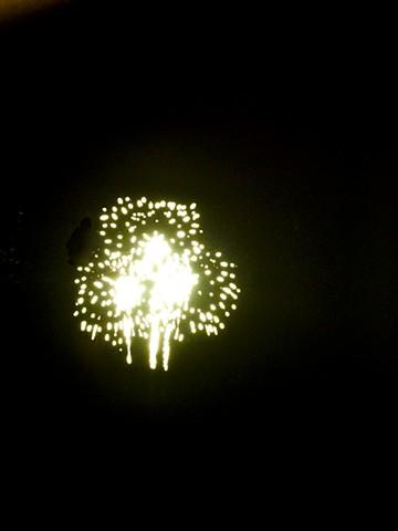 Fireworks, Yellow II