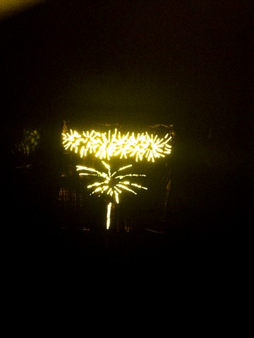 Fireworks, Yellow III