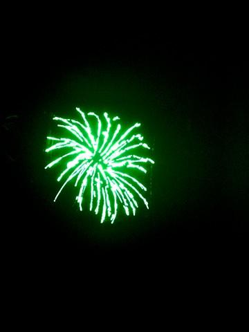 Fireworks, Green II