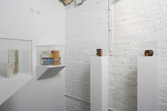 The Reliquary (exhibition view)