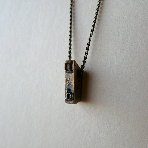 Strikeplate Necklace - D