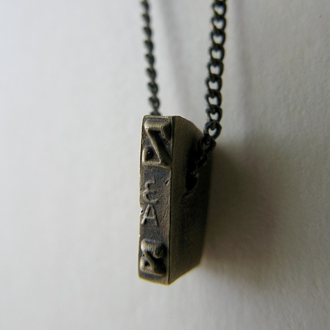 Strikeplate Necklace - Z
