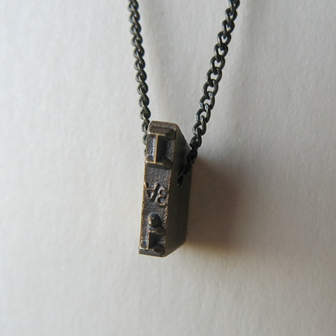 Strikeplate Necklace - I