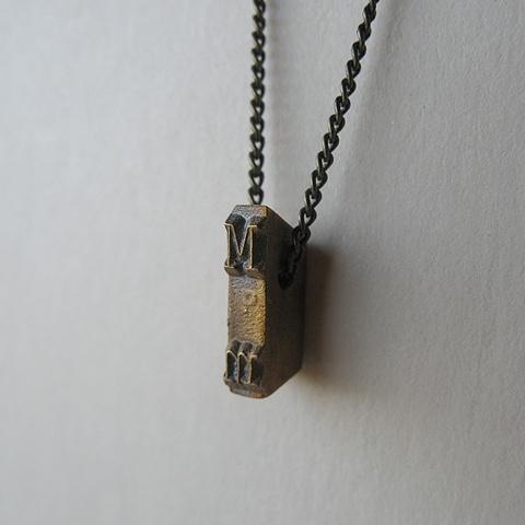 Strikeplate Necklace - M