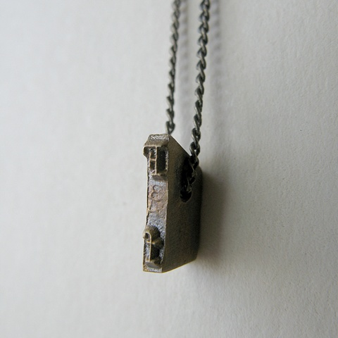 Strikeplate Necklace - F