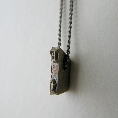 Strikeplate Necklace - F