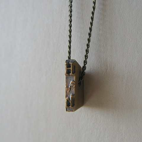 Strikeplate Necklace - H