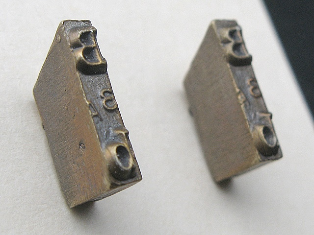 B Strikeplate Earrings
