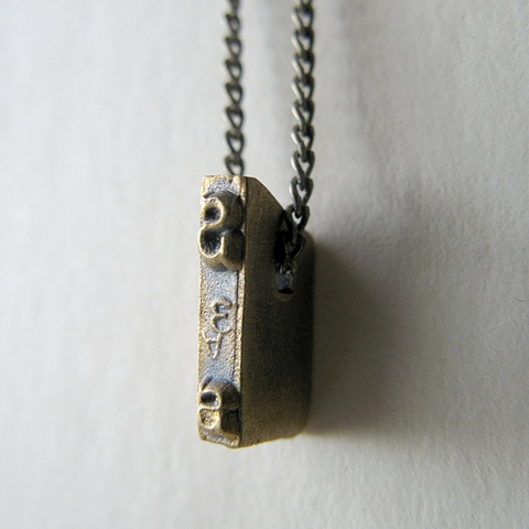 Strikeplate Necklace - S