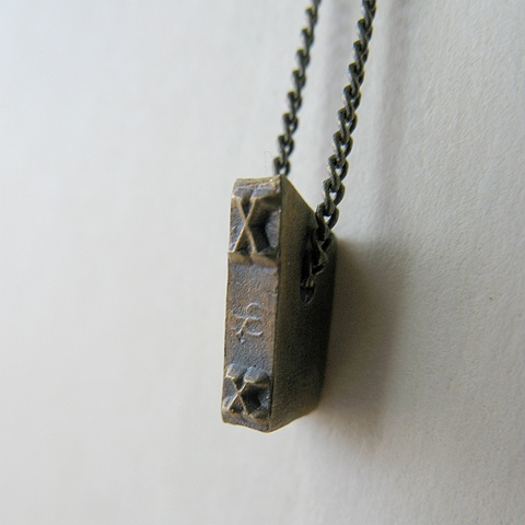 Strikeplate Necklace - X