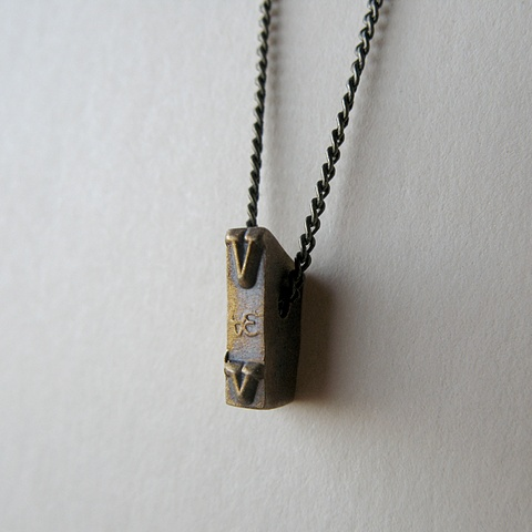 Strikeplate Necklace - V
