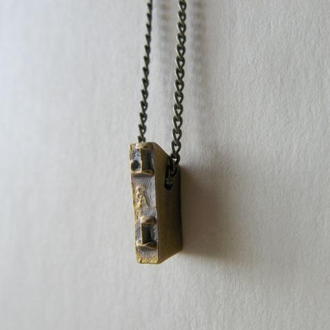 Strikeplate Necklace - L