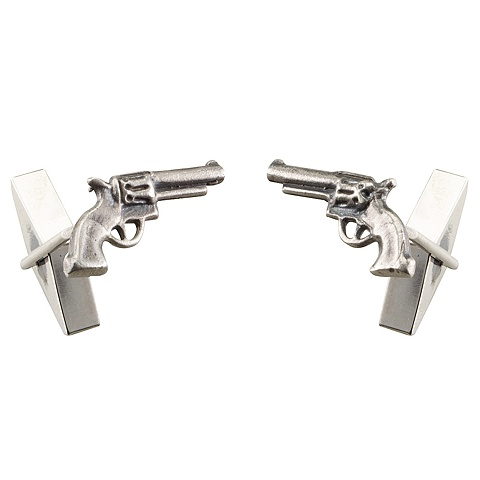 Pistol Cuff Links