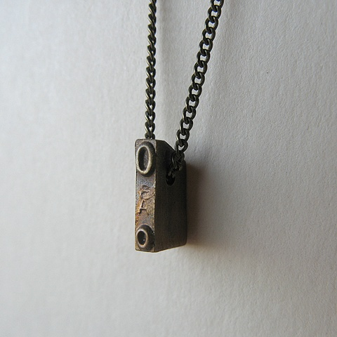 Strikeplate Necklace - O