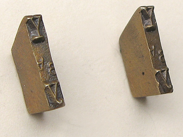 Y Strikeplate Earrings