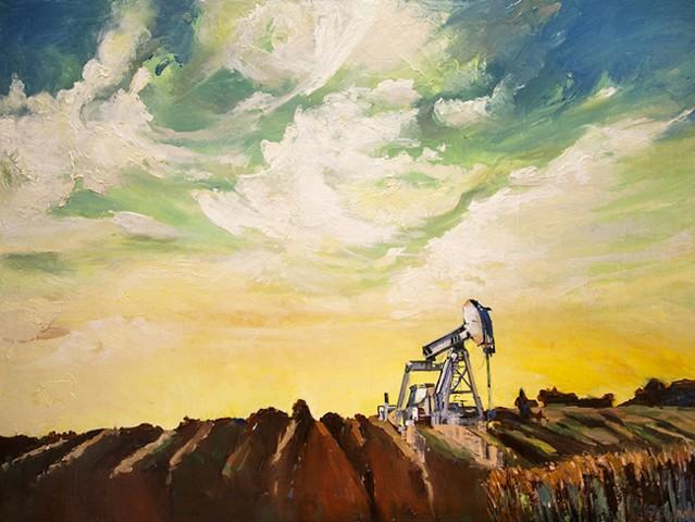 Mystical, a fantasy pump jack....no more oil.