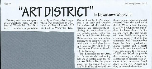 Woodville Downtown Art District, 2013