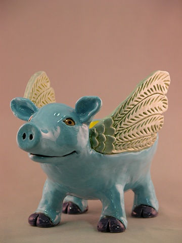 Winged Pig Bowl