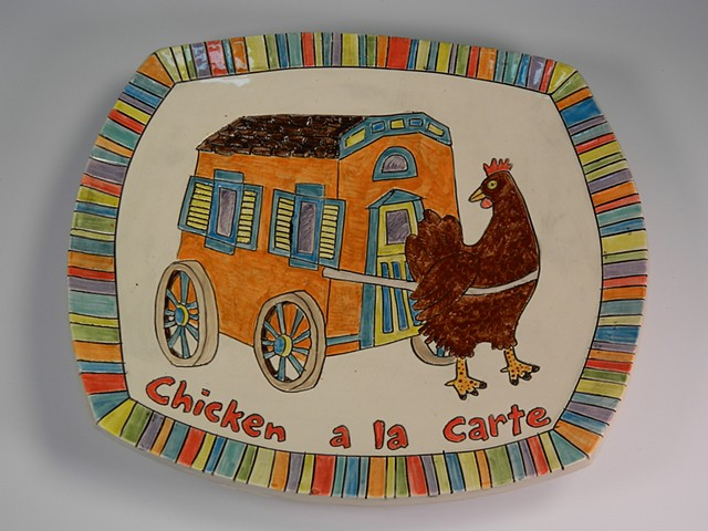 Chicken a la Carte Plate