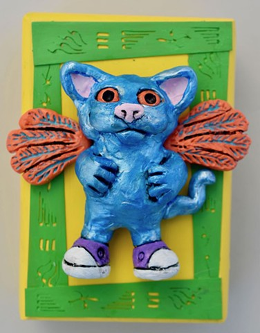 Blue Kitty