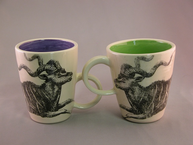Photocopy transfer mugs
