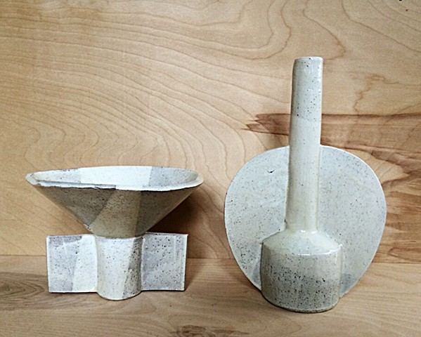 Bowl and Vase