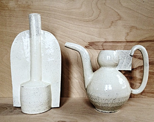 Vase and Ewer