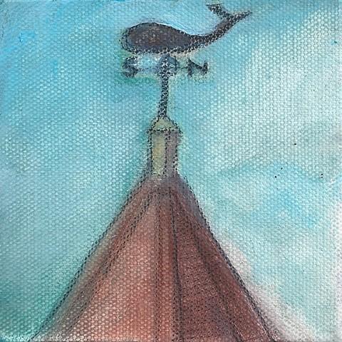 April 28 I love unusual weathervanes.