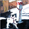 January 6  Pugs tied up to a gas station pole.