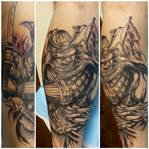 samurai in progress