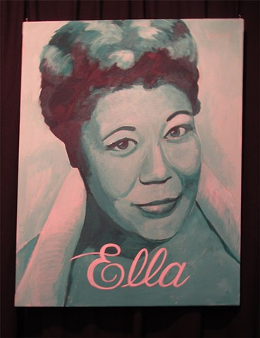 Ella Fitzgerald Satin Dolls Stage Set Theatre