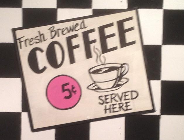 50's show coffee