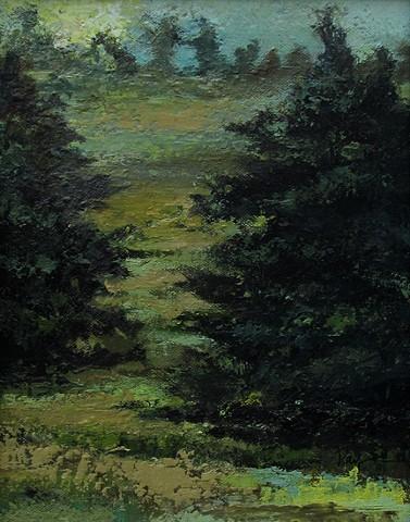 Flanking Cedars