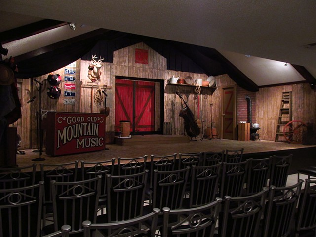 Good Old Mountain Music Stage