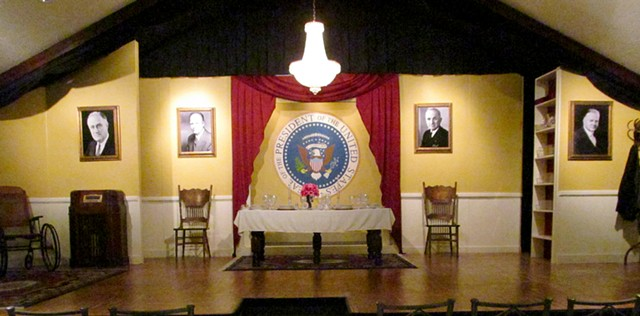 Looking Over the President's Shoulder Stage Set Theatre Design