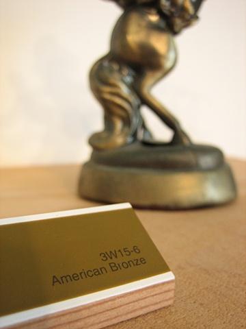 American Bronze (detail)