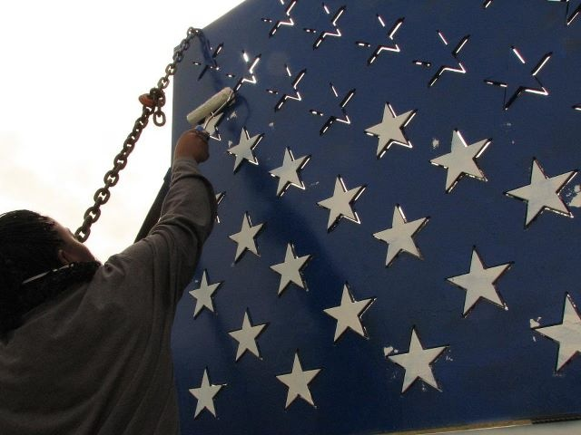 Repainting the Flag (Ira Hill's Flag Project)