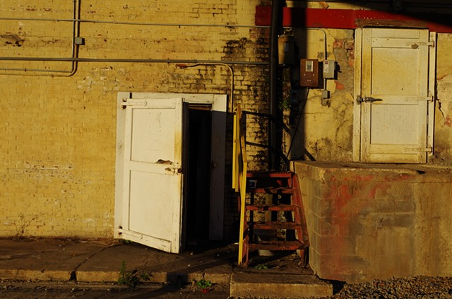 2 Doors.  The Back of the South Georgia Ice Company (originally a grocery) in Tifton, GA.