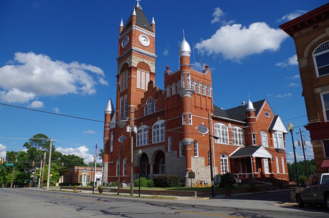 Dawson, Ga. Terrell County Courthouse.