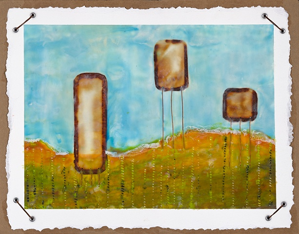 Toasted Mellows in Breezy Land -SOLD