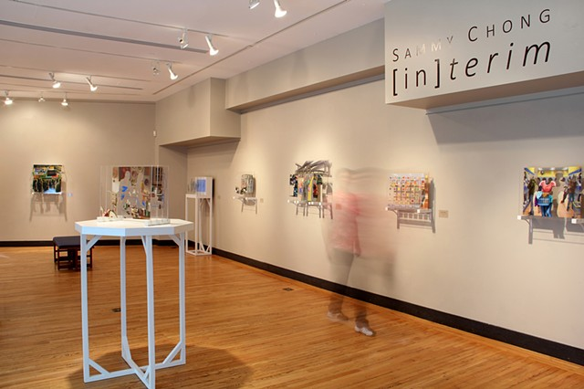 Install View - Carney Gallery - Weston, MA September 2014