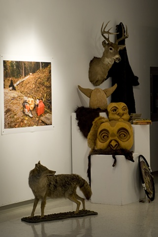 NCN Installation Animal Masks