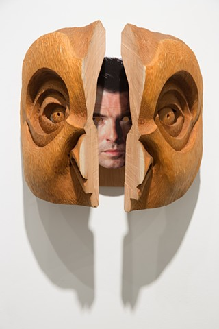 Pierce Brosnan/Grey Owl Transformation Mask