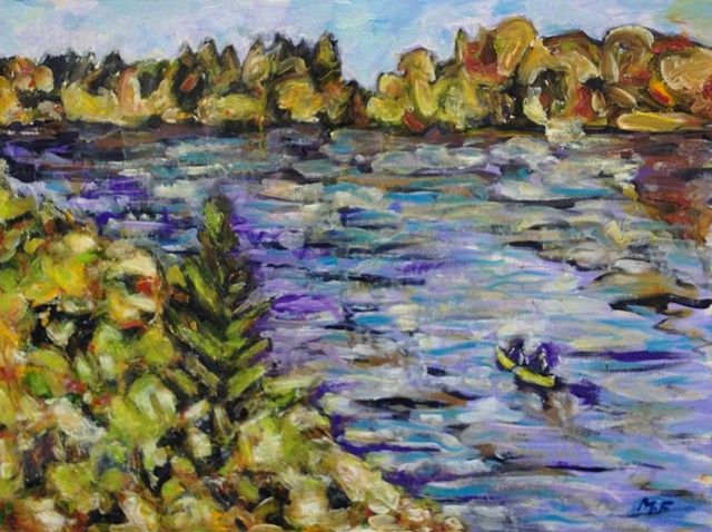 Field Study_French River, 2015