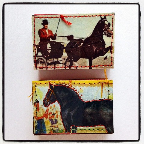 Two Fine Horses~