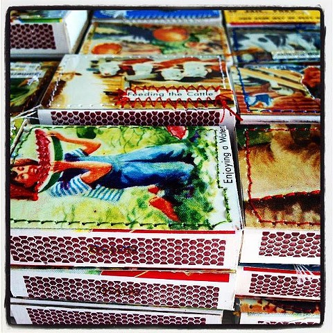 Stacked Matchboxes~