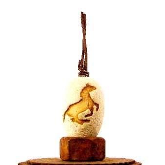 Horse eggs (2) JCC/ $30. a piece