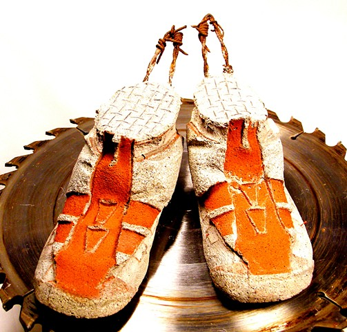 Star-of-David Sandals ($265.) (7.18.2013) Area 61 Sold 7.26.2013 (172.25) Jennie & Clay Gentry!