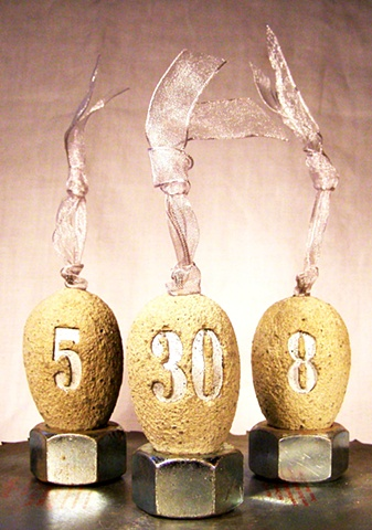 House number eggs.
